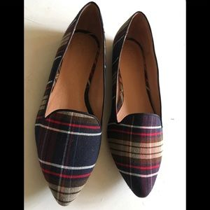 Joie daydreaming plaid loafers